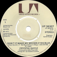Crystal Gayle ‎– Don't It Make My Brown Eyes Blue