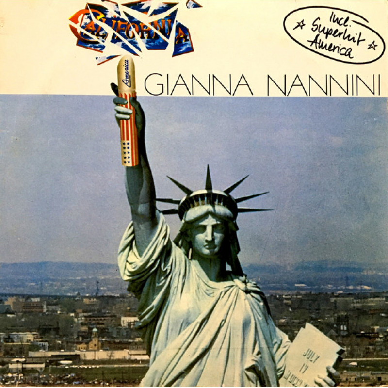 Gianna Nannini ‎– California