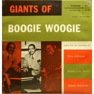 Various Artists - Giants of Boogie Woogie