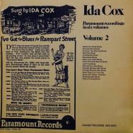 Ida Cox - Paramount Recordings in six Volumes, Volume 2