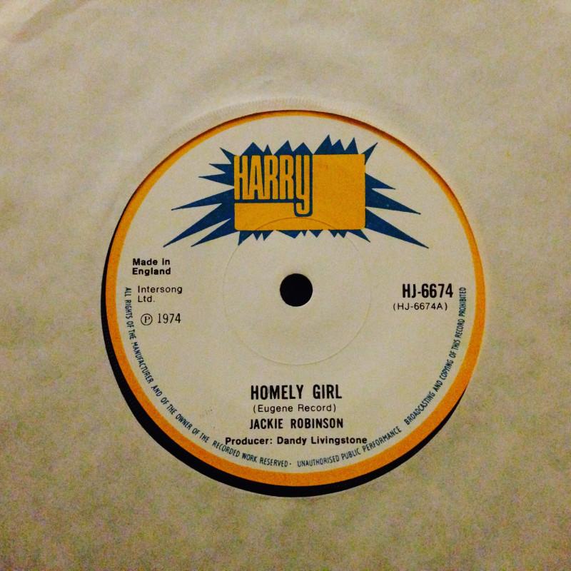 Jackie Robinson Homely girl / Thunder ball (Beard man)